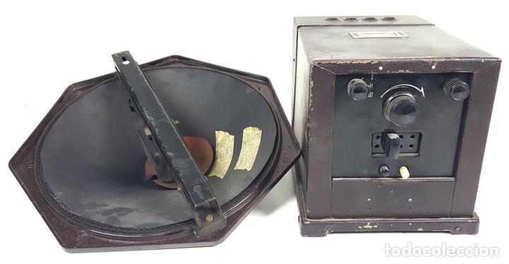 RADIO PHILIPS MODELO 2515 A VALVULAS. PINTURA ORIGINAL. 125 V. 1928-1930. (Radios, Gramófonos, Grabadoras y Otros - Radios de Válvulas)