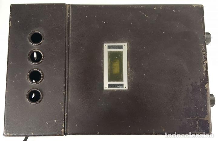 Radios de válvulas: RADIO PHILIPS MODELO 2515 A VALVULAS. PINTURA ORIGINAL. 125 V. 1928-1930. - Foto 9 - 114524211