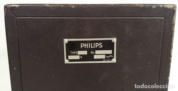 Radios de válvulas: RADIO PHILIPS MODELO 2515 A VALVULAS. PINTURA ORIGINAL. 125 V. 1928-1930. - Foto 11 - 114524211