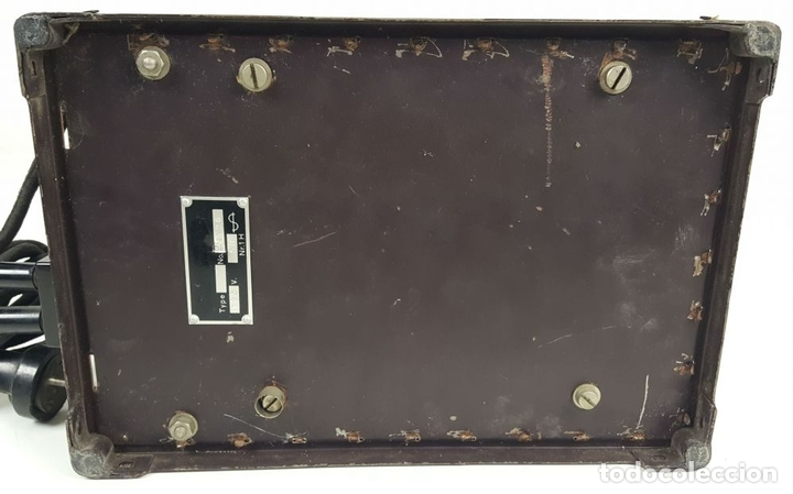 Radios de válvulas: RADIO PHILIPS MODELO 2515 A VALVULAS. PINTURA ORIGINAL. 125 V. 1928-1930. - Foto 15 - 114524211