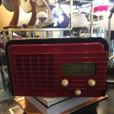 Radios de válvulas: RADIO DE BAQUELITA MARCA LINCOLN CHICAGO DE LOS AÑOS 40 , FUNCIONA. Lote 114822039