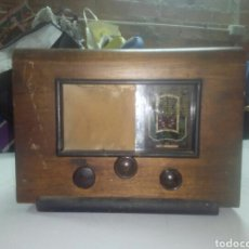 Radios de válvulas: ANTIGUA RADIO DE LAMPARAS. Lote 115524780