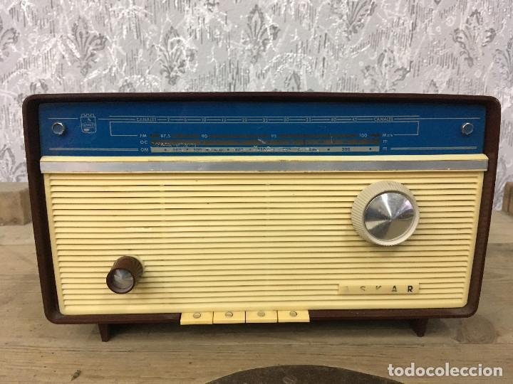 RADIO ASKAR AE 1223 A. FUNCIONA AM. 125V. ESPAÑA 1962 (Radios, Gramófonos, Grabadoras y Otros - Radios de Válvulas)
