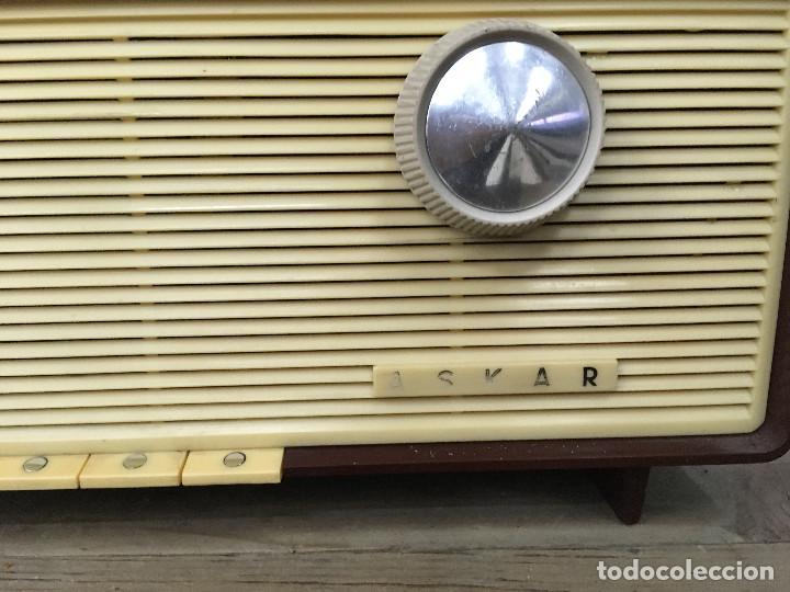 Radios de válvulas: RADIO ASKAR AE 1223 A. FUNCIONA AM. 125V. ESPAÑA 1962 - Foto 2 - 115740963