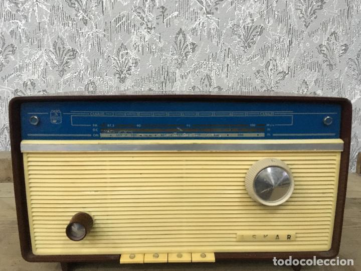 Radios de válvulas: RADIO ASKAR AE 1223 A. FUNCIONA AM. 125V. ESPAÑA 1962 - Foto 4 - 115740963