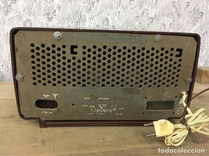 Radios de válvulas: RADIO ASKAR AE 1223 A. FUNCIONA AM. 125V. ESPAÑA 1962 - Foto 7 - 115740963