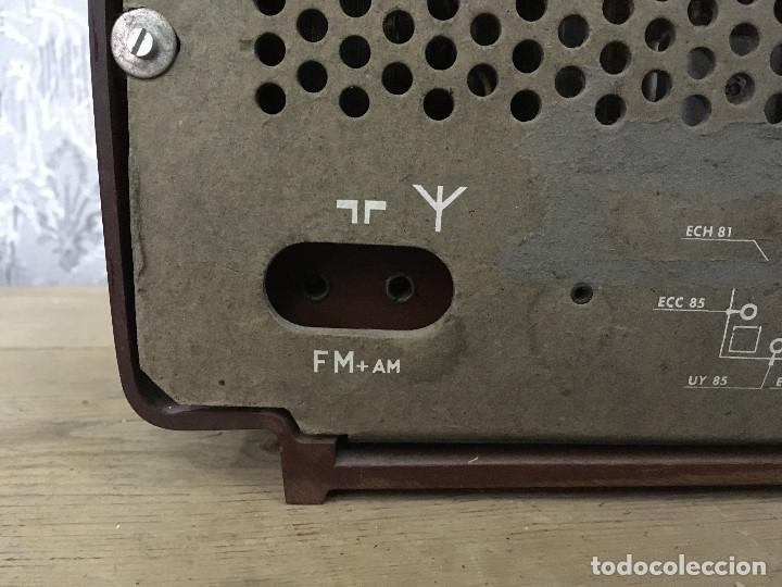 Radios de válvulas: RADIO ASKAR AE 1223 A. FUNCIONA AM. 125V. ESPAÑA 1962 - Foto 9 - 115740963