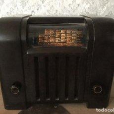 Radios de válvulas: RADIO BLAUPUNKT SUPER 4W6 BAQUELITA.. Lote 115744839
