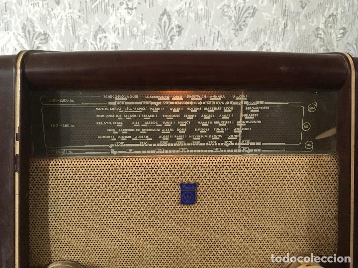 Radios de válvulas: RADIO RADIOLA BAQUELITA CON INTERRUPTOR.220V - Foto 2 - 115745899
