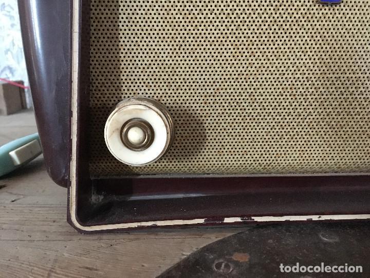 Radios de válvulas: RADIO RADIOLA BAQUELITA CON INTERRUPTOR.220V - Foto 5 - 115745899