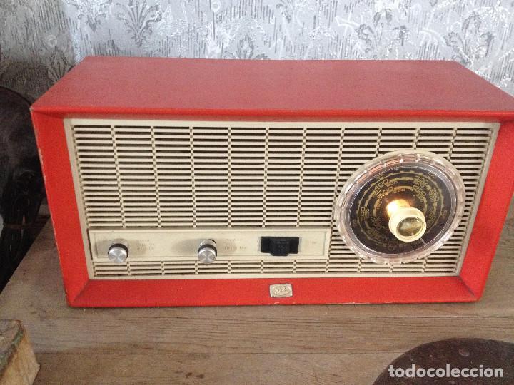 Radios de válvulas: RADIO SBR R18 220 V.RETRO - Foto 3 - 116134379