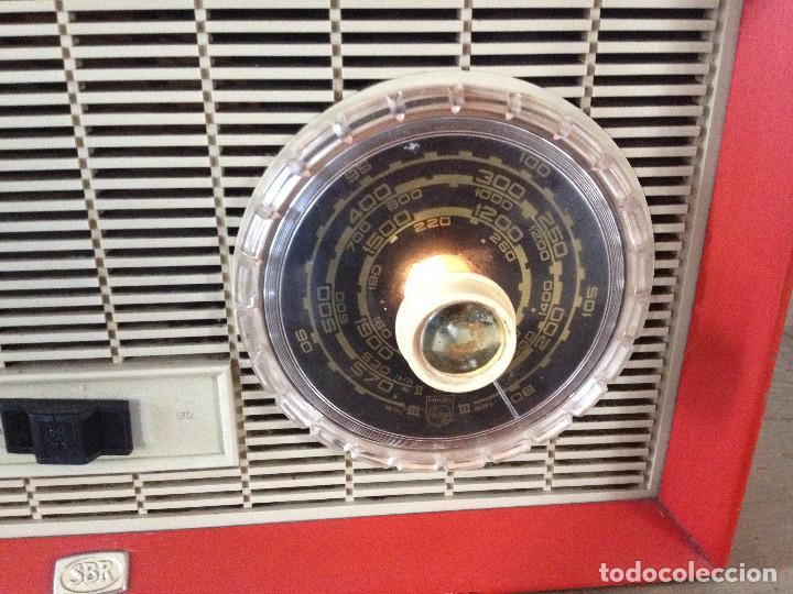 Radios de válvulas: RADIO SBR R18 220 V.RETRO - Foto 5 - 116134379