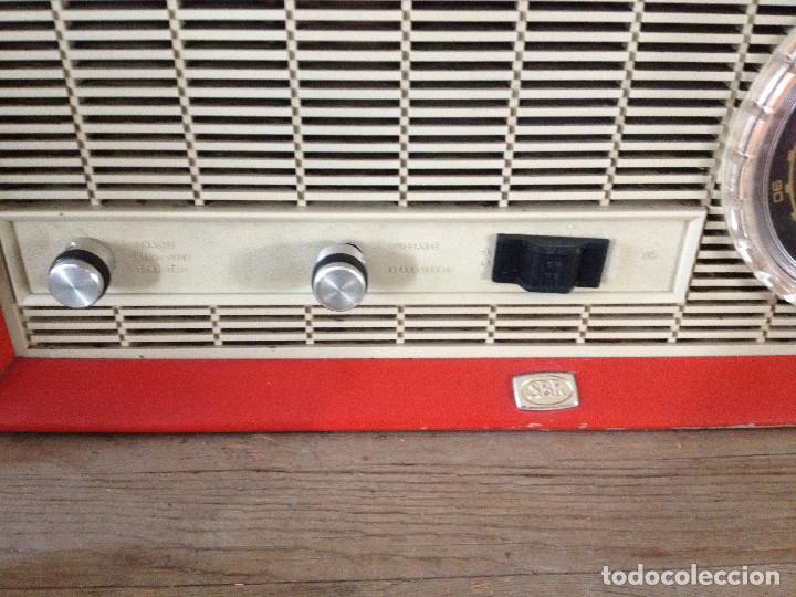 Radios de válvulas: RADIO SBR R18 220 V.RETRO - Foto 6 - 116134379
