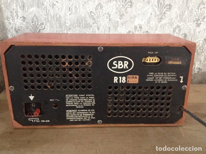 Radios de válvulas: RADIO SBR R18 220 V.RETRO - Foto 7 - 116134379
