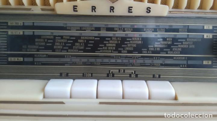 Radios de válvulas: RADIO ERRES KY 583.1958.PAISES BAJOS. - Foto 5 - 116136011
