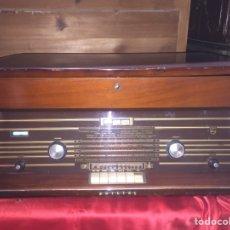 Radios de válvulas: RADIO PHILIPS RADIOTOCADISCOS H6E94A TODO ORIGINAL Y FUNCIONANDO MUY BIEN. Lote 116158263