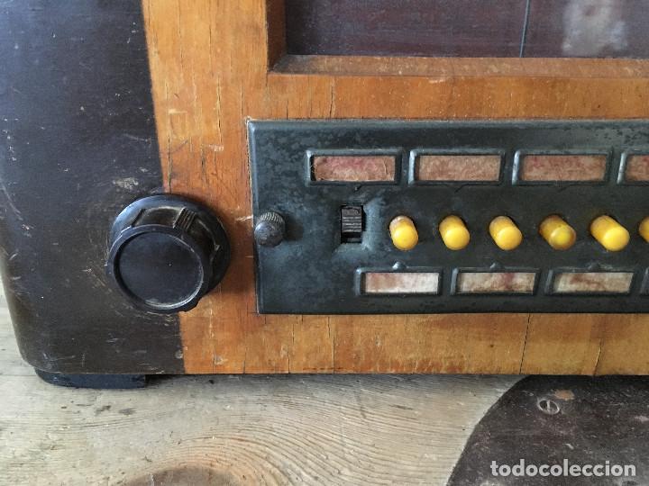 Radios de válvulas: RADIO PYE SOBREMESA. CON PRESINTONIA. INGLATERRA 1938. 220V - Foto 4 - 116295171