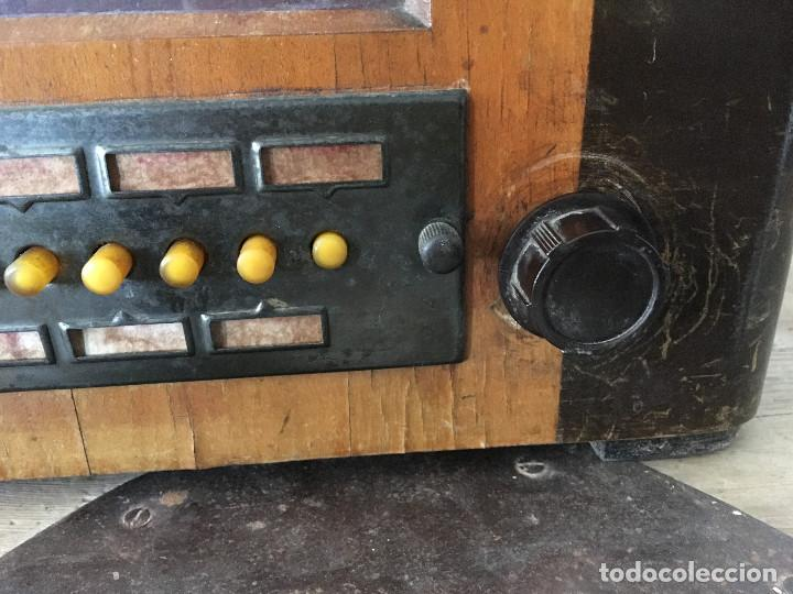 Radios de válvulas: RADIO PYE SOBREMESA. CON PRESINTONIA. INGLATERRA 1938. 220V - Foto 5 - 116295171