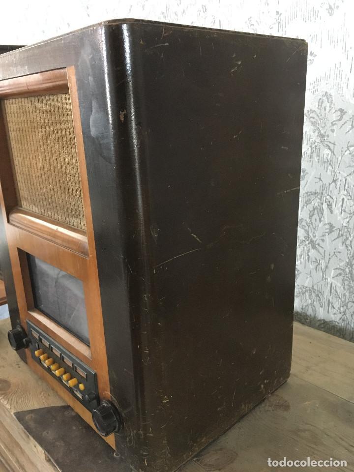 Radios de válvulas: RADIO PYE SOBREMESA. CON PRESINTONIA. INGLATERRA 1938. 220V - Foto 8 - 116295171