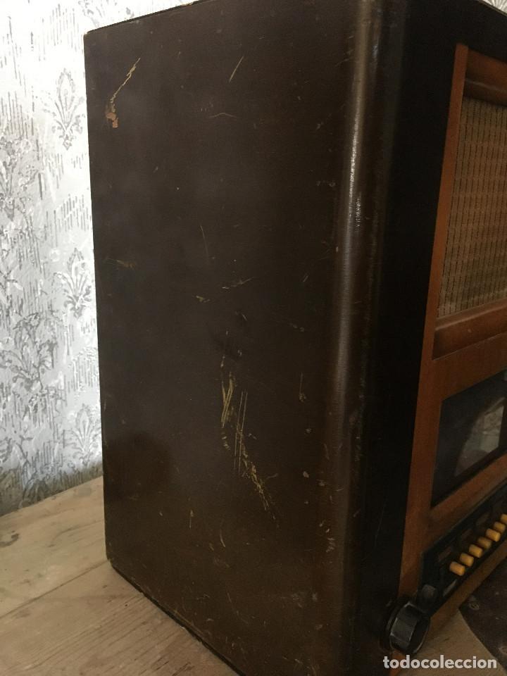 Radios de válvulas: RADIO PYE SOBREMESA. CON PRESINTONIA. INGLATERRA 1938. 220V - Foto 9 - 116295171