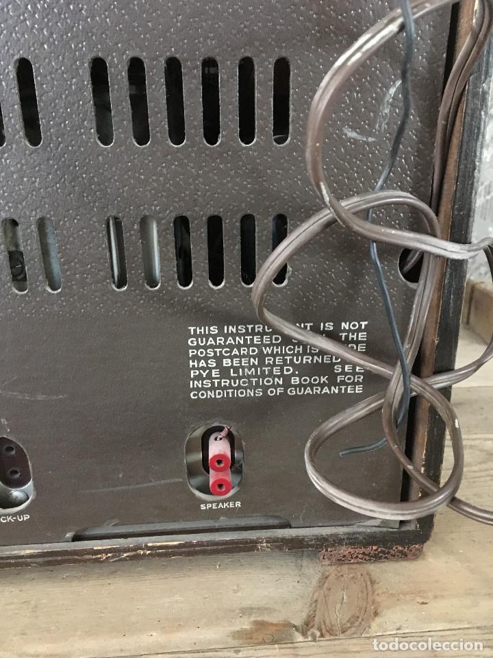Radios de válvulas: RADIO PYE SOBREMESA. CON PRESINTONIA. INGLATERRA 1938. 220V - Foto 12 - 116295171