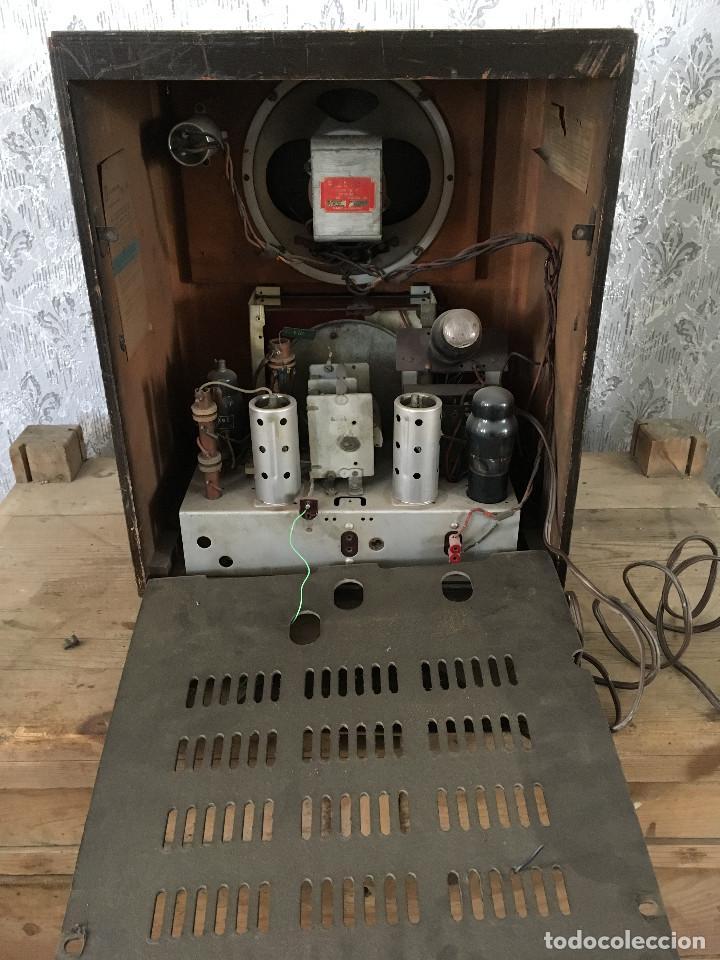 Radios de válvulas: RADIO PYE SOBREMESA. CON PRESINTONIA. INGLATERRA 1938. 220V - Foto 14 - 116295171
