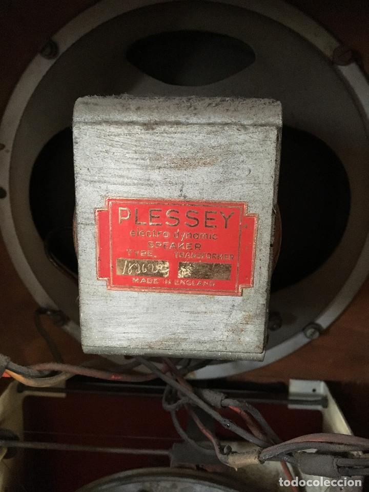 Radios de válvulas: RADIO PYE SOBREMESA. CON PRESINTONIA. INGLATERRA 1938. 220V - Foto 16 - 116295171