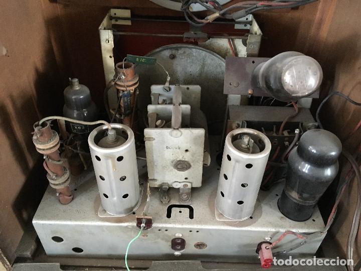 Radios de válvulas: RADIO PYE SOBREMESA. CON PRESINTONIA. INGLATERRA 1938. 220V - Foto 17 - 116295171