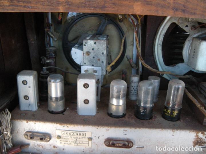 Radios de válvulas: ESPECTACULAR RADIO JOSANSO - Foto 4 - 116648243