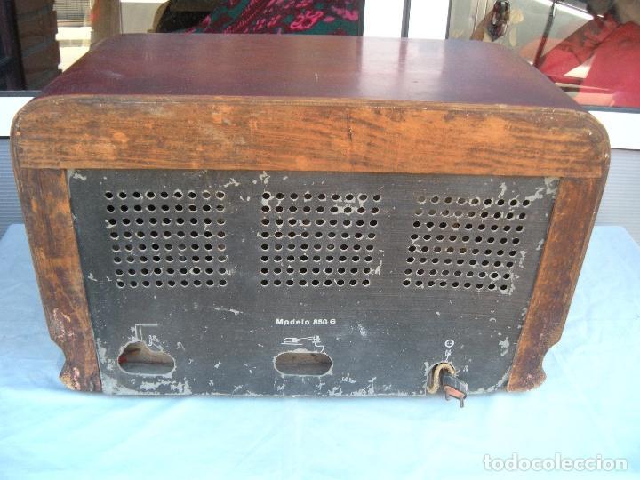 Radios de válvulas: ESPECTACULAR RADIO JOSANSO - Foto 9 - 116648243