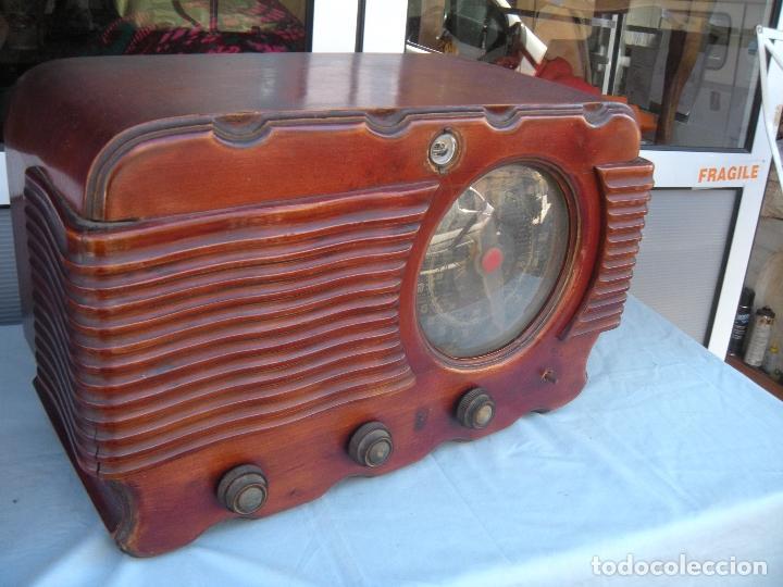 Radios de válvulas: ESPECTACULAR RADIO JOSANSO - Foto 20 - 116648243