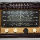 Radios de válvulas: RADIO A VALVULAS SCHNEIDER - RONDO 57 - MULTIBANDA , DECADA DE LOS 50. Lote 116991627