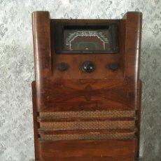Radios de válvulas: RADIO COSSOR DE PIE. 220V. IDEAL PARA DECORACIÓN. Lote 117014583