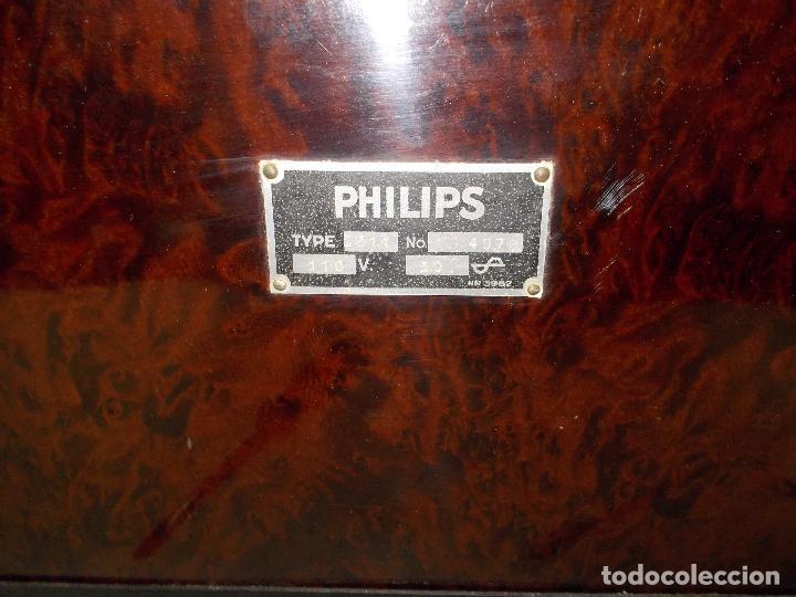 Radios de válvulas: Radio Philips 2511 - Foto 10 - 117059259