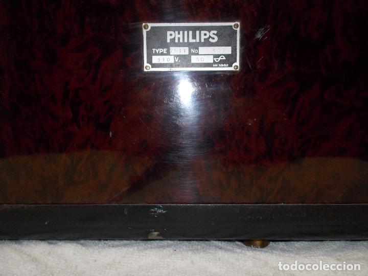 Radios de válvulas: Radio Philips 2511 - Foto 11 - 117059259