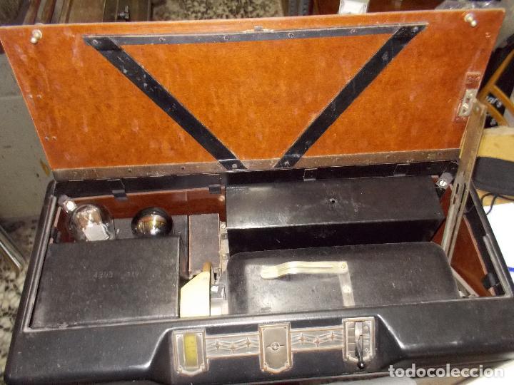 Radios de válvulas: Radio Philips 2511 - Foto 12 - 117059259