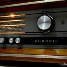 Radios de válvulas: IMPRESIONANTE RADIO A VÁLVULAS ALEMÁN GRUNDIG RF 160 STEREO. Lote 117087723