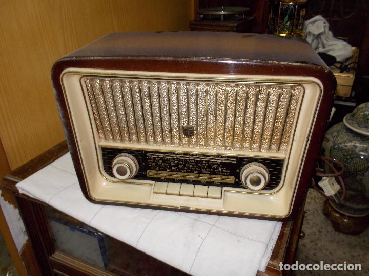 RADIO GRUNDIG (Radios, Gramófonos, Grabadoras y Otros - Radios de Válvulas)