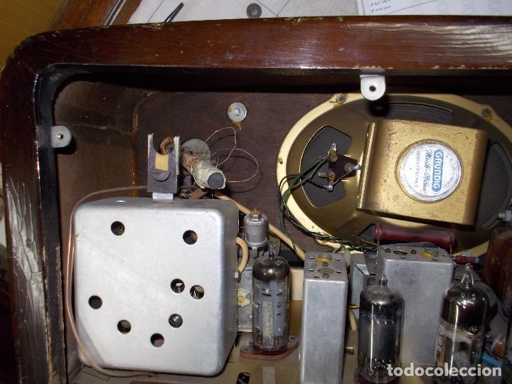 Radios de válvulas: Radio grundig - Foto 17 - 178759511