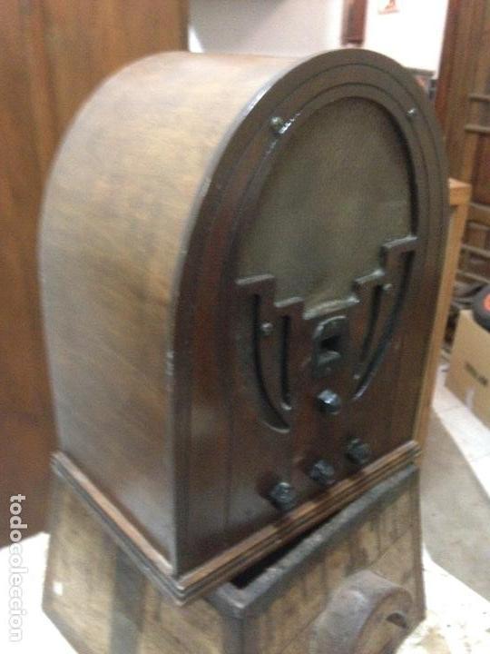 Radios de válvulas: Radio de Capilla Philco 60 , años 30 - Foto 3 - 117278311