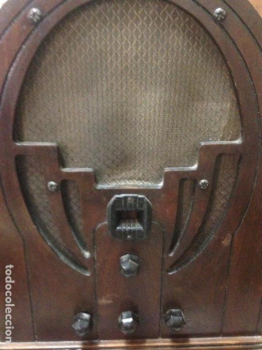 Radios de válvulas: Radio de Capilla Philco 60 , años 30 - Foto 4 - 117278311