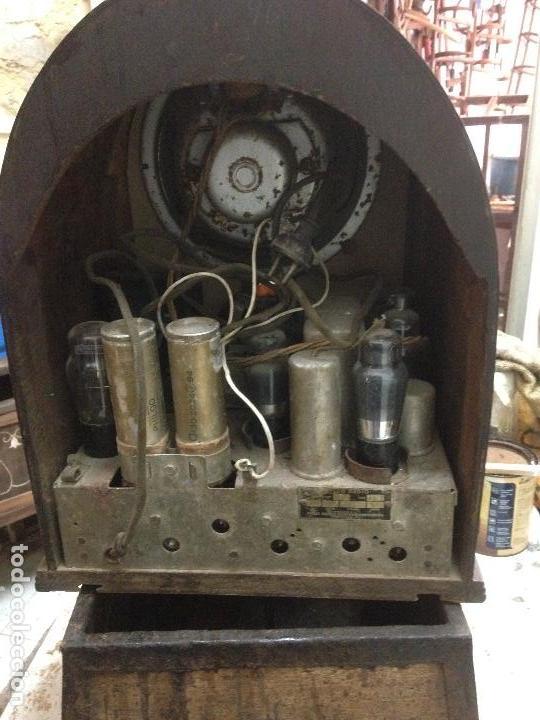 Radios de válvulas: Radio de Capilla Philco 60 , años 30 - Foto 5 - 117278311