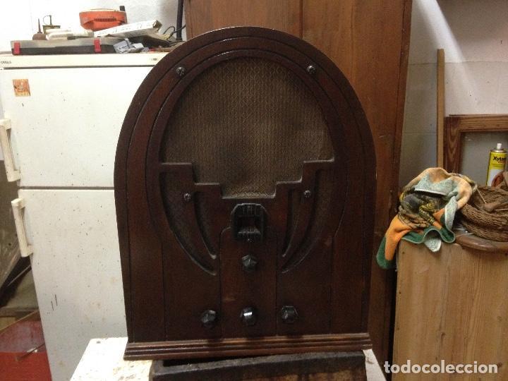 Radios de válvulas: Radio de Capilla Philco 60 , años 30 - Foto 7 - 117278311