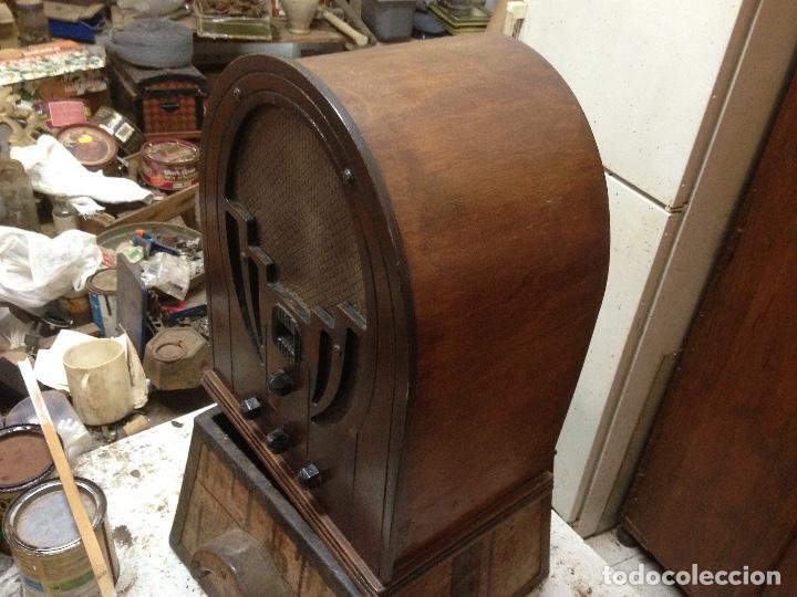 Radios de válvulas: Radio de Capilla Philco 60 , años 30 - Foto 8 - 117278311