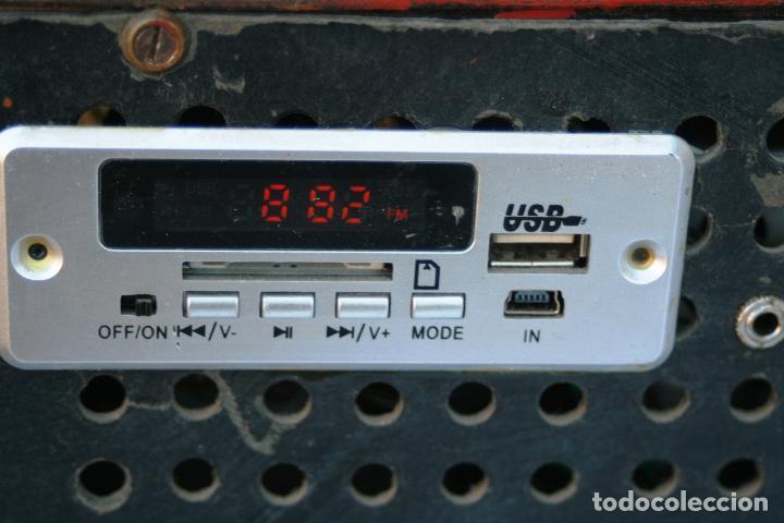 Radios de válvulas: AUTENTICA RADIO DECORACION VINTAGE MARCA VICA SUENA PERFECTAMENTE AÑOS 60 LEER MAS - Foto 9 - 118251007