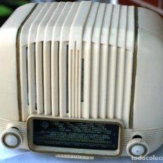 Radios de válvulas: AUTENTICA RADIO DECORACION VINTAGE MARCA TELEFUNKEN PANCHITO SUENA PERFECTAMENTE 1949 LEER MAS. Lote 118251447