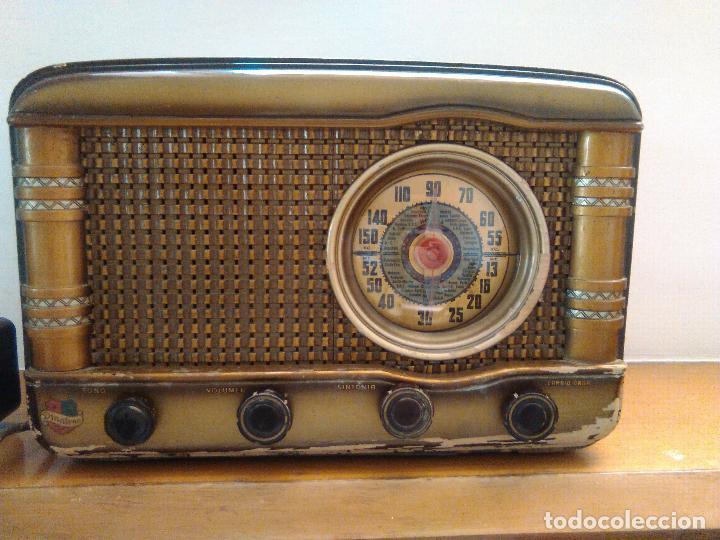RADIO A VALVULAS FUNCIONANDO (Radios, Gramófonos, Grabadoras y Otros - Radios de Válvulas)