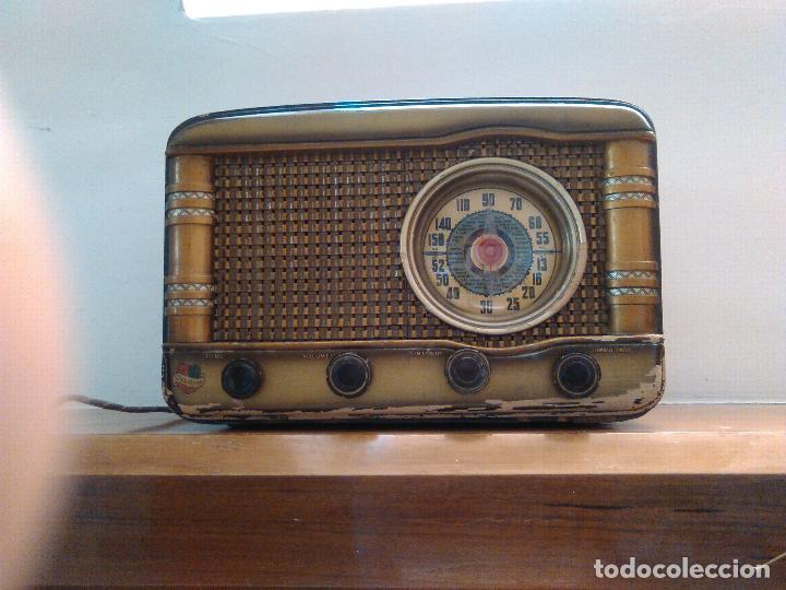 Radios de válvulas: radio a valvulas funcionando - Foto 2 - 118260255