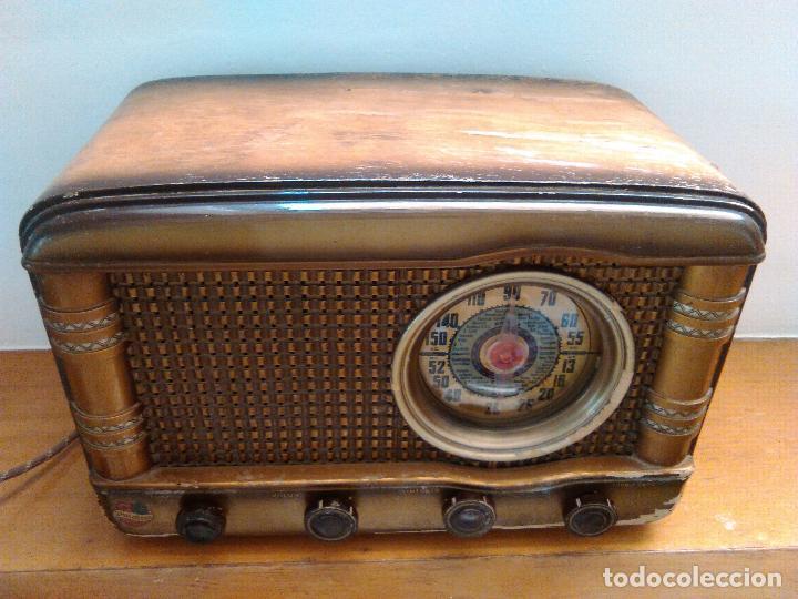 Radios de válvulas: radio a valvulas funcionando - Foto 3 - 118260255