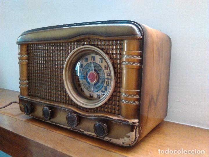Radios de válvulas: radio a valvulas funcionando - Foto 5 - 118260255
